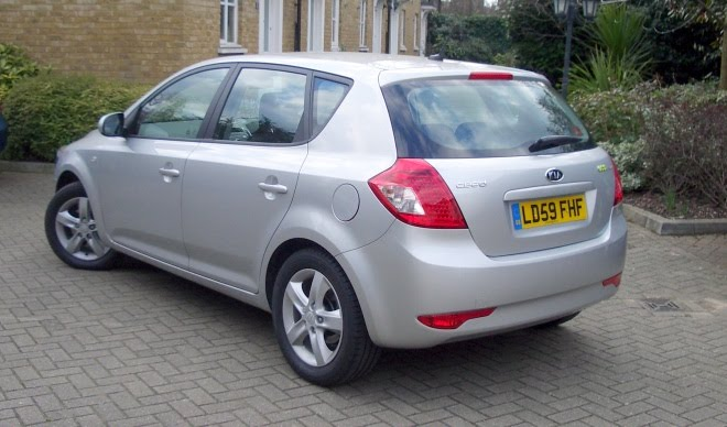 Kia Ceed EcoDynamics rear view