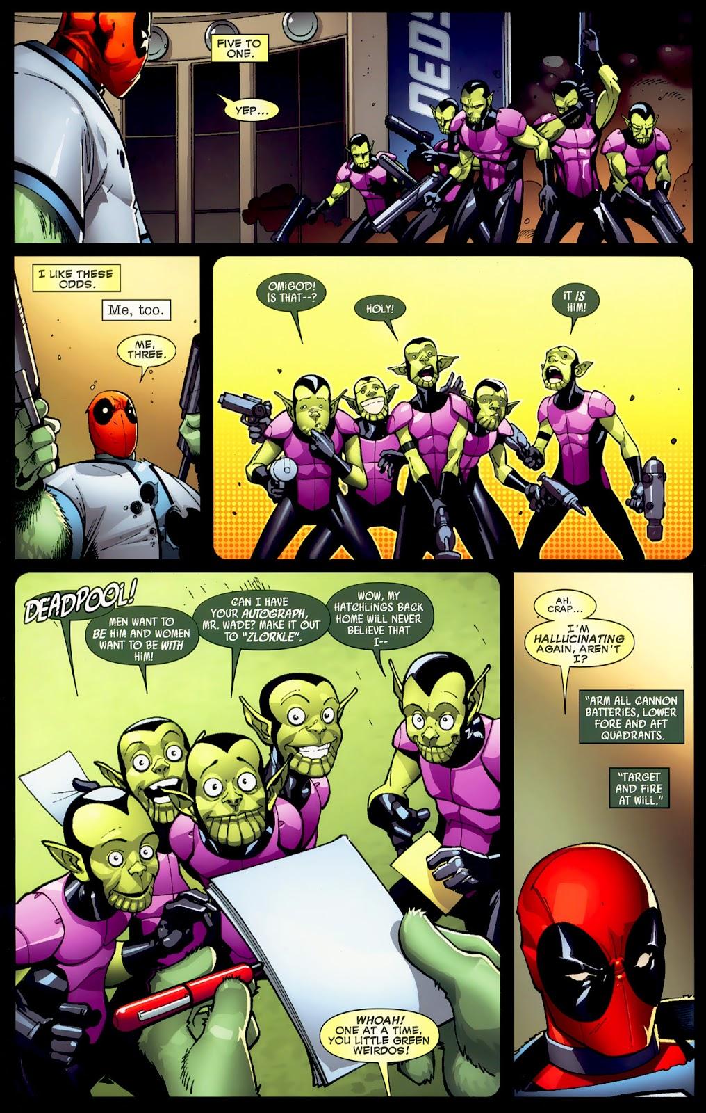 Read online Deadpool (2008) comic -  Issue #1 - 9