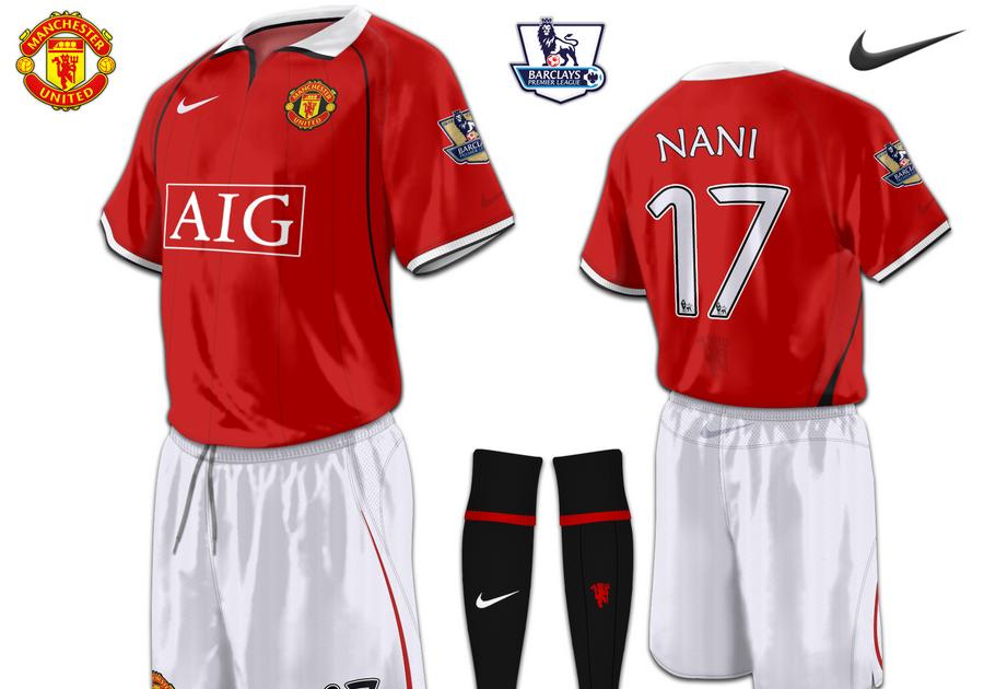 Football Kits Design: Manchester United (Newton Heath
