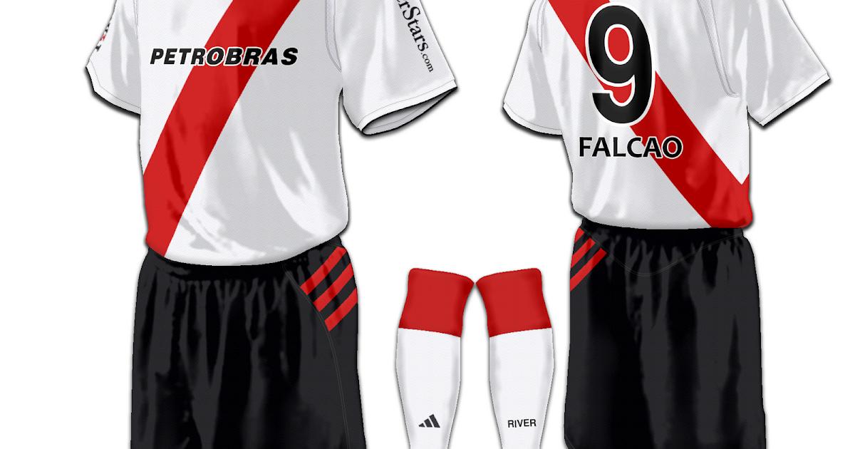 Football Kits Design: C.A. River Plate Fantasy Kits