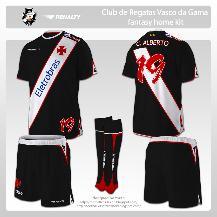 96be413018 football kits design  Club de Regatas Vasco da Gama fantasy kits