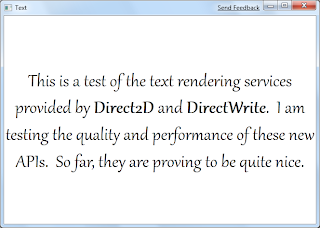 GPU Experiments: DirectWrite Text Layouts