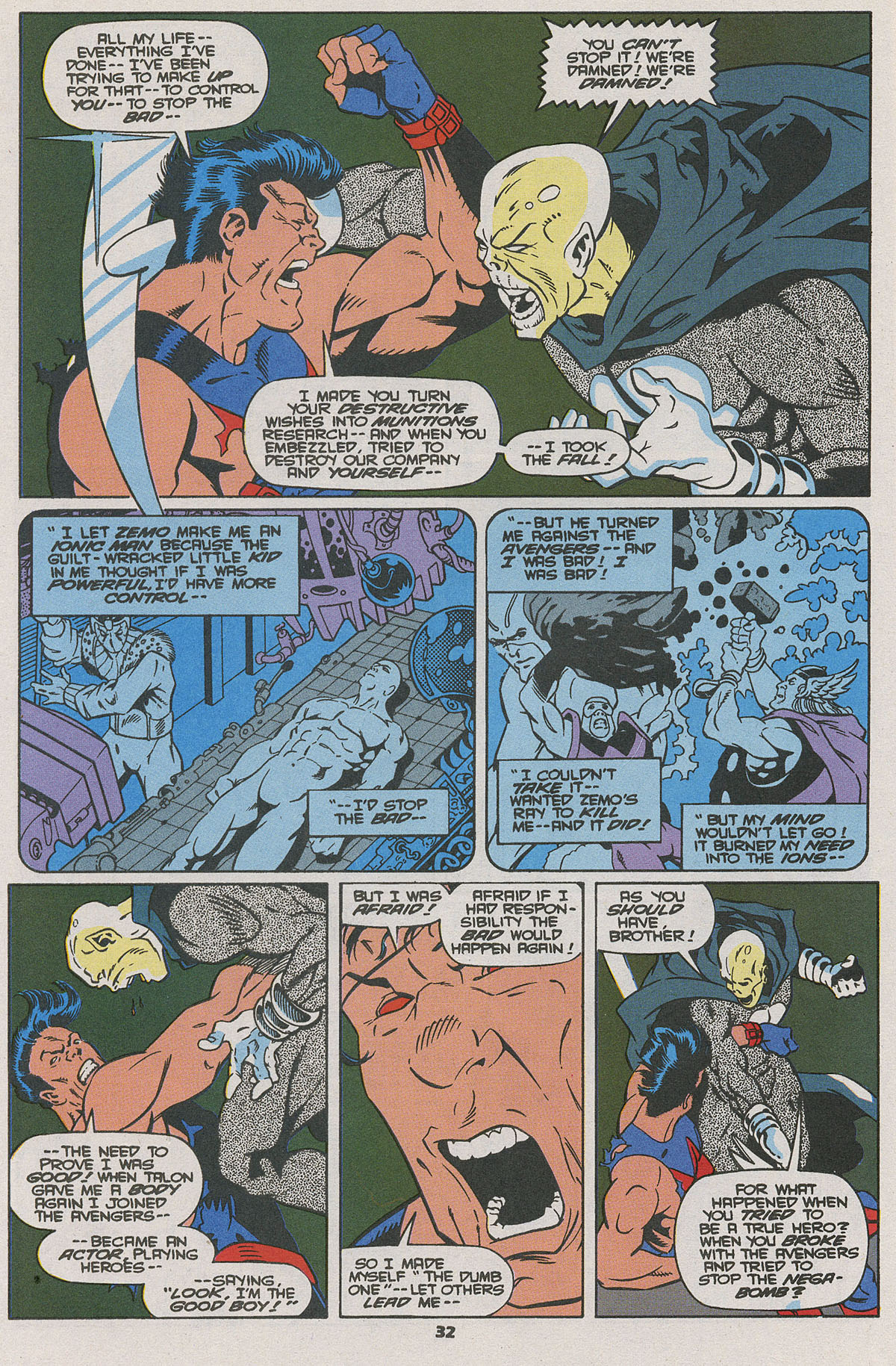 Read online Wonder Man (1991) comic -  Issue #25 - 26