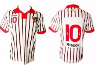 São Paulo lança uniforme em comemoração aos 75 anos do clubeSegundo o  diretor de marketing do clube fcb397c979e6c