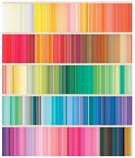 Cynthia Mosser: COLORED PENCIL wall