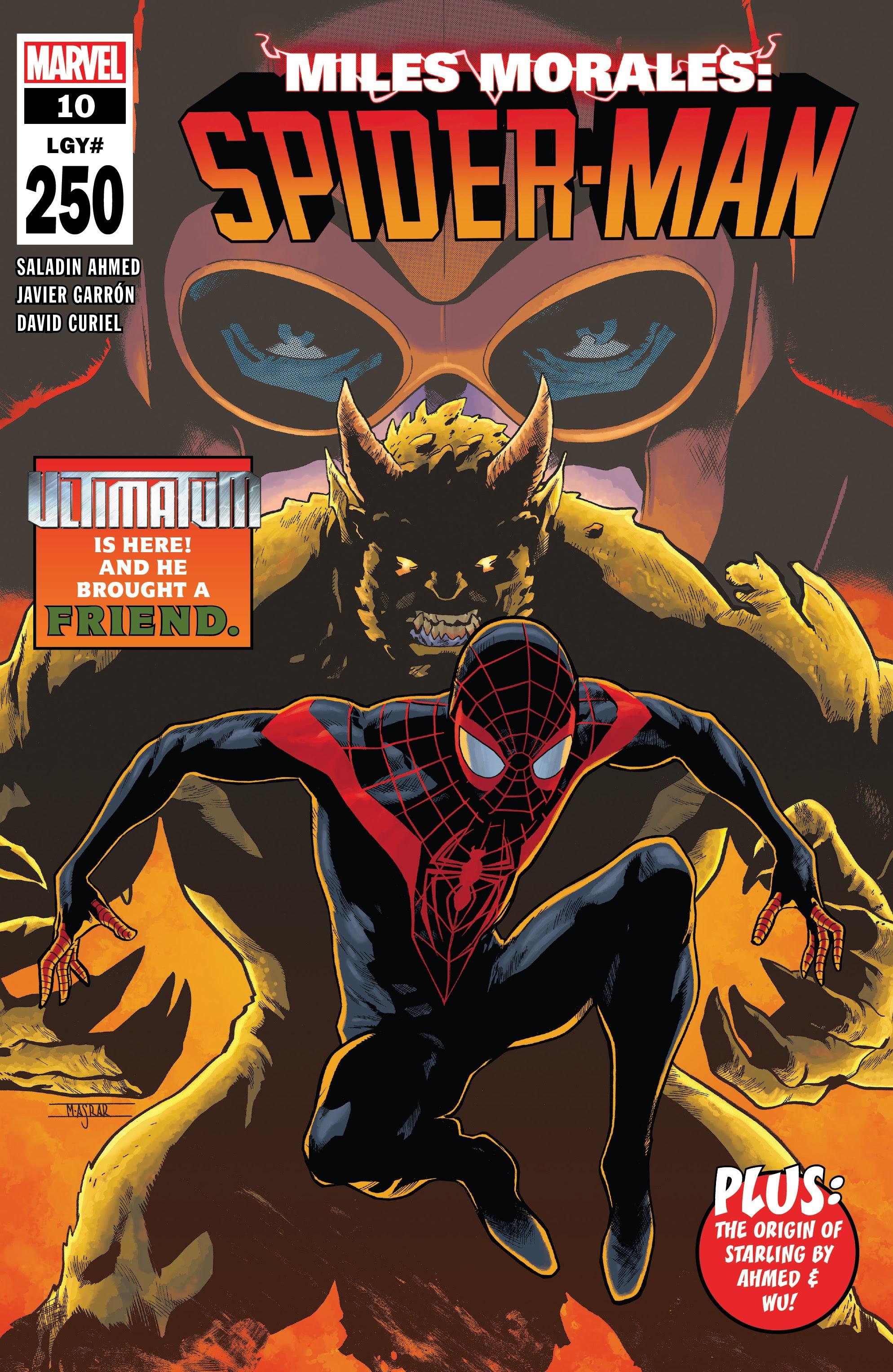 Miles Morales: Spider-Man 10 Page 1