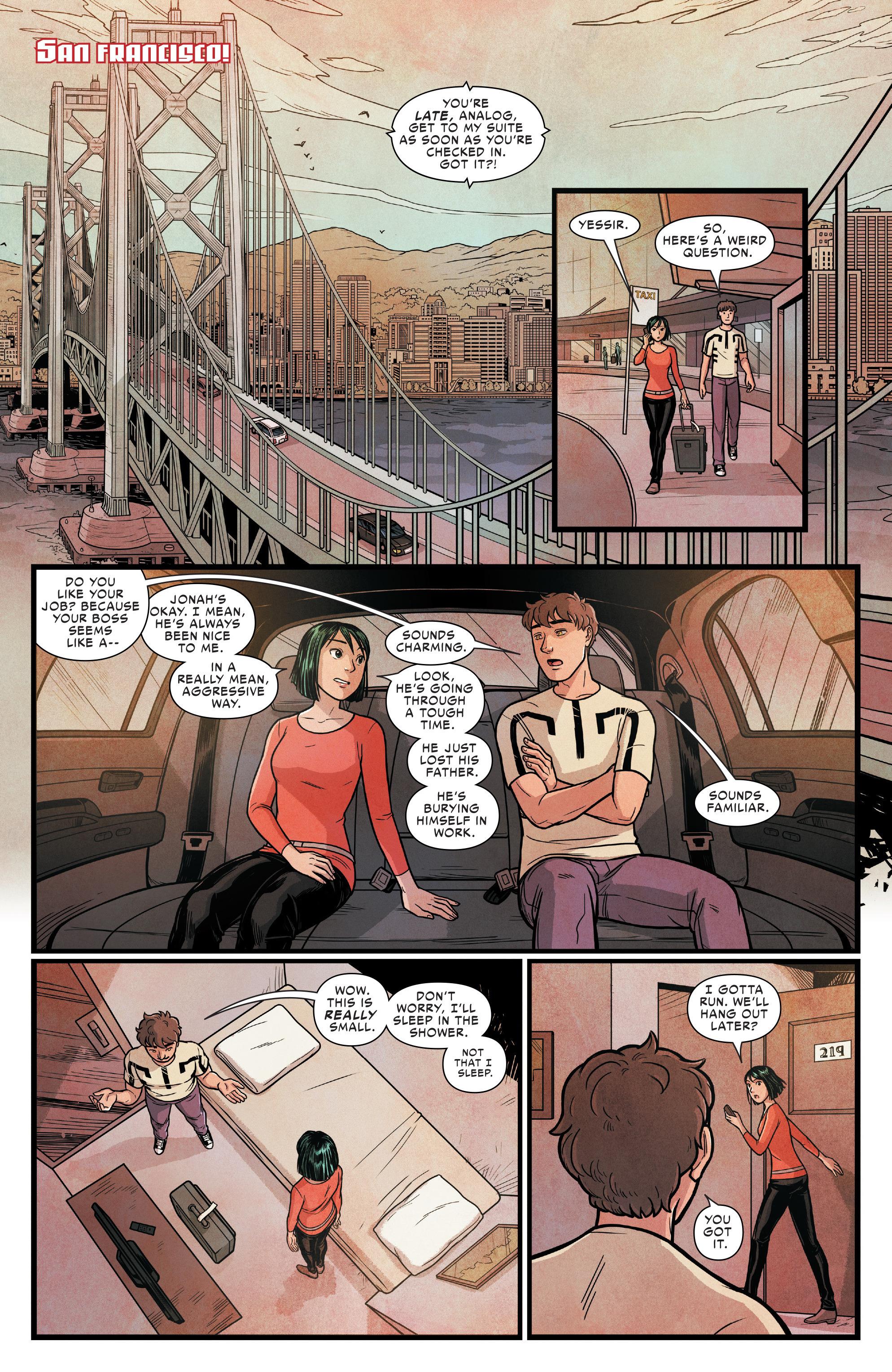 Read online Silk (2016) comic -  Issue #14 - 12