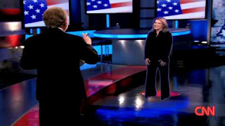 CNN's election night hologram