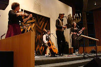 Los Desterrados performing at Belfast Synagogue in March 2008