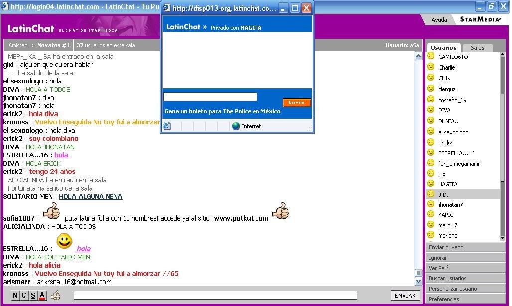 Latin cupido chat gratis