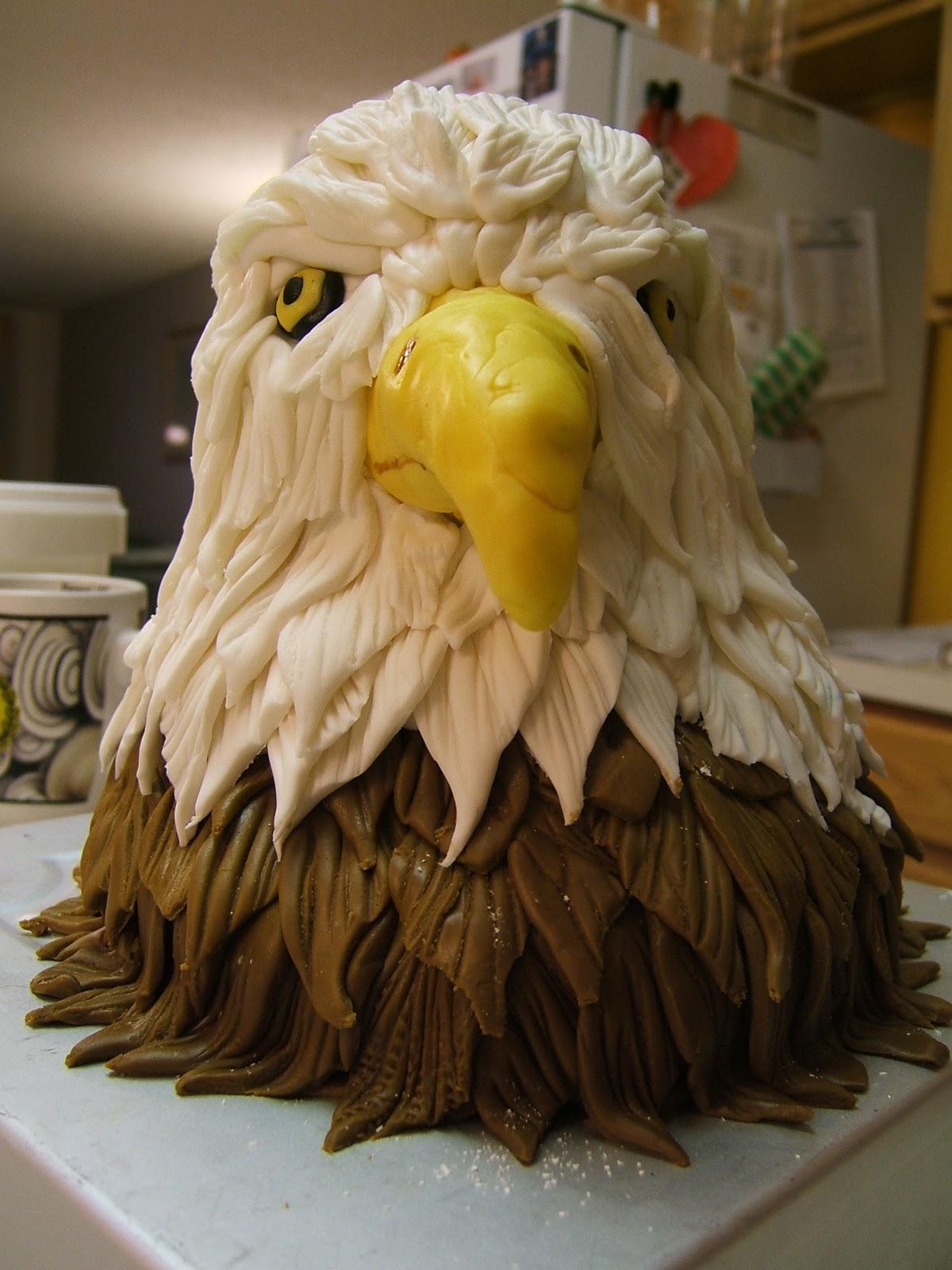 Kaaren S Kakes Eagle Cake Topper