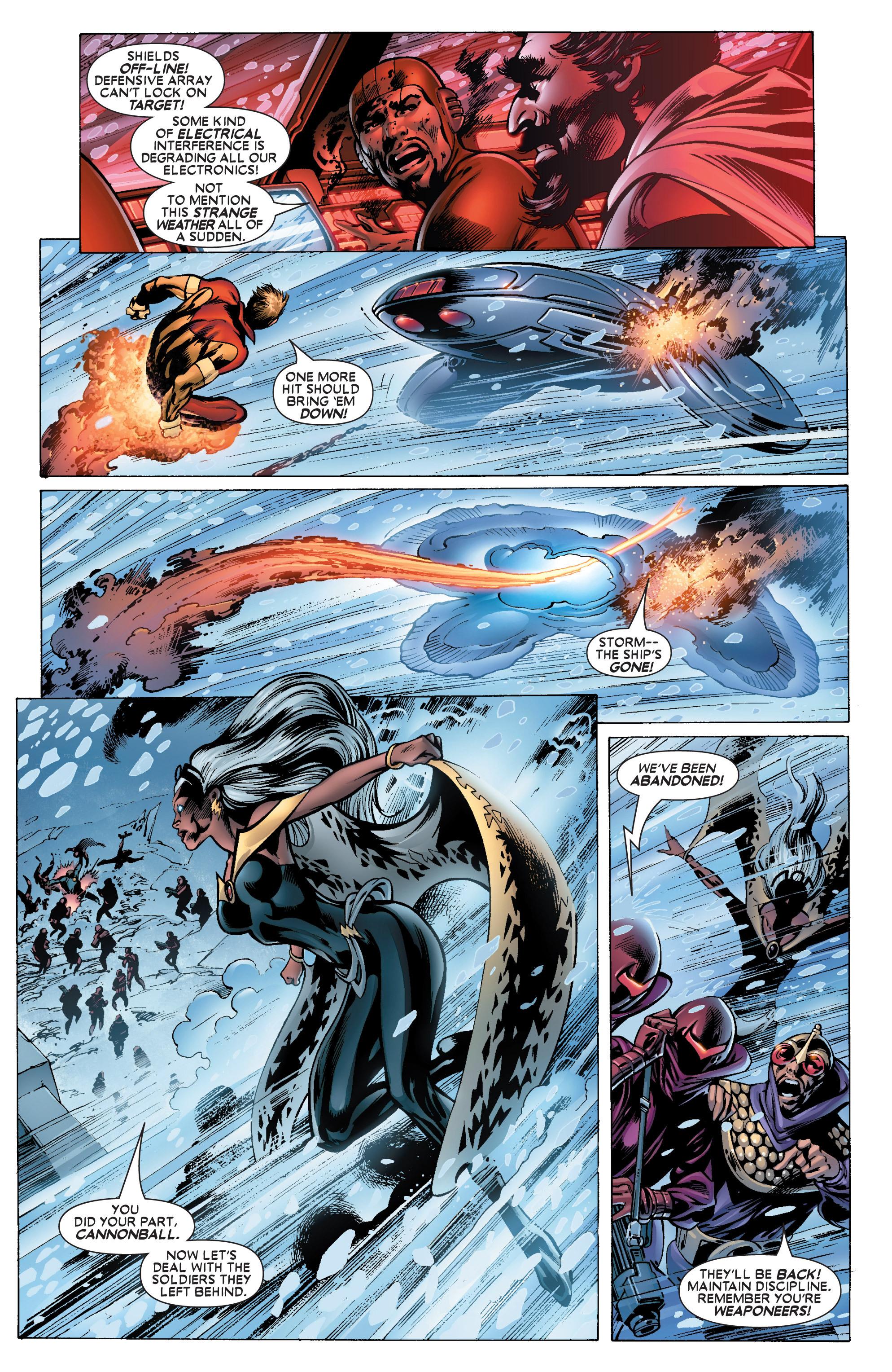 Read online Uncanny X-Men (1963) comic -  Issue #444 - 18