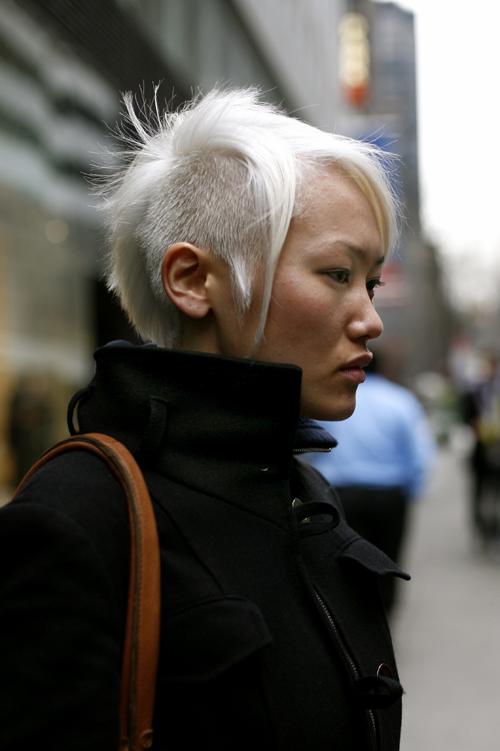 Brungki Short Hair Mohawk Girl