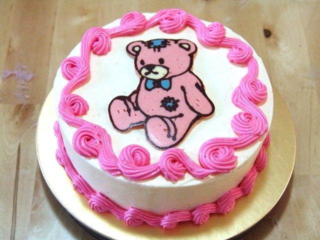 Cathy Cartoon Chocolate Cake