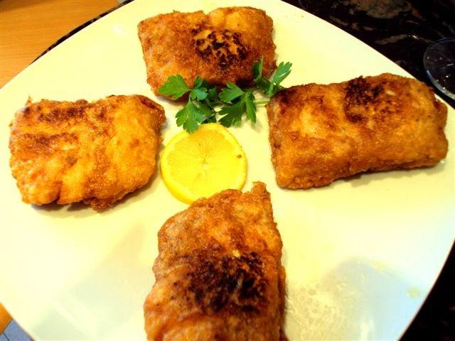 Para hincar el diente k m m k merluza rebozada en salsa - Cocinar lomos de merluza ...