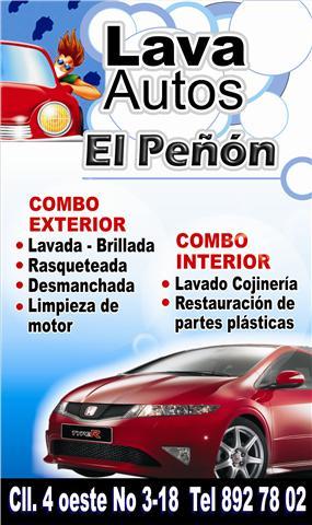 Venta De Carros >> Lava Autos El Peñon
