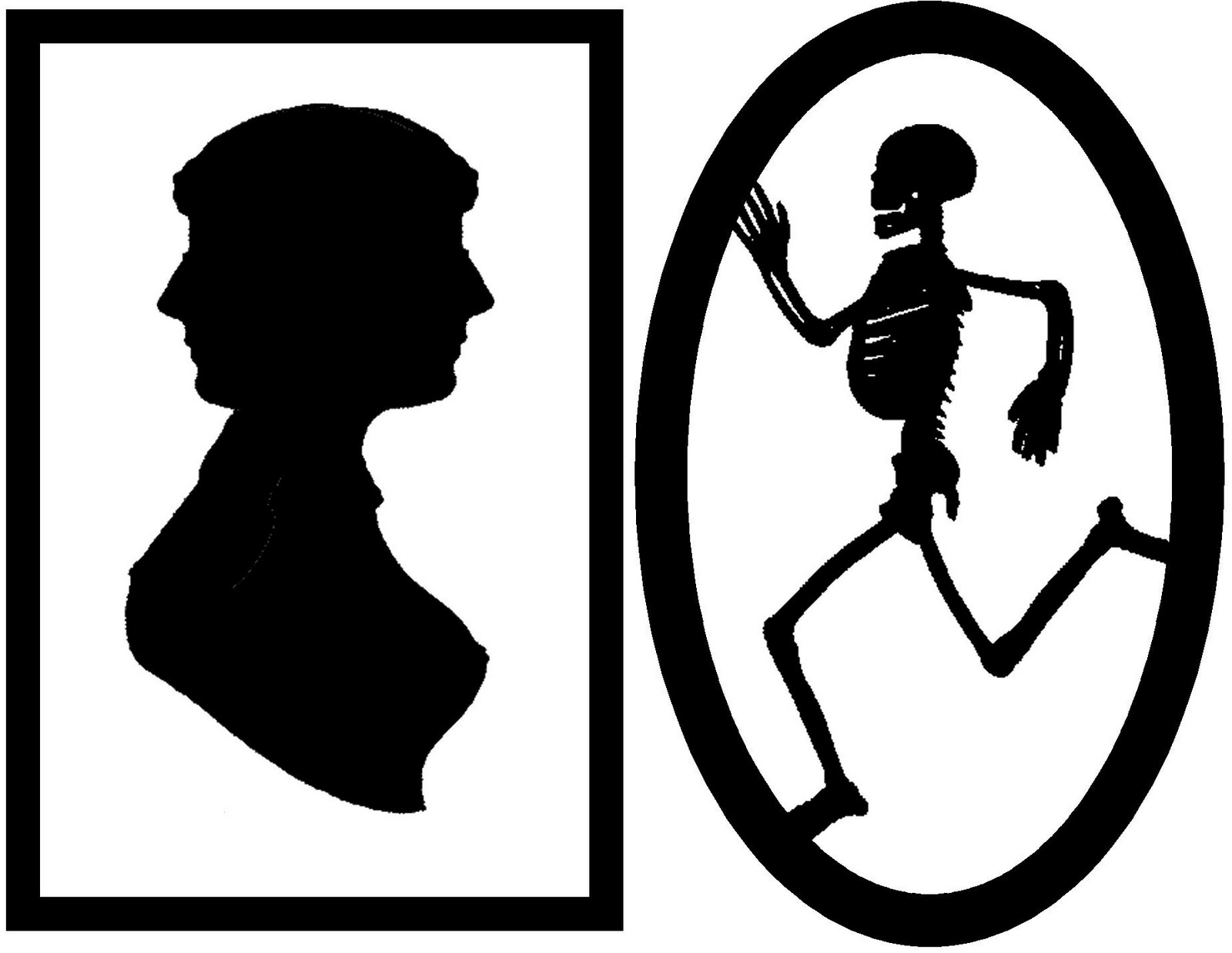 Framed Creepy Silhouette Decorations (FREE Halloween ...