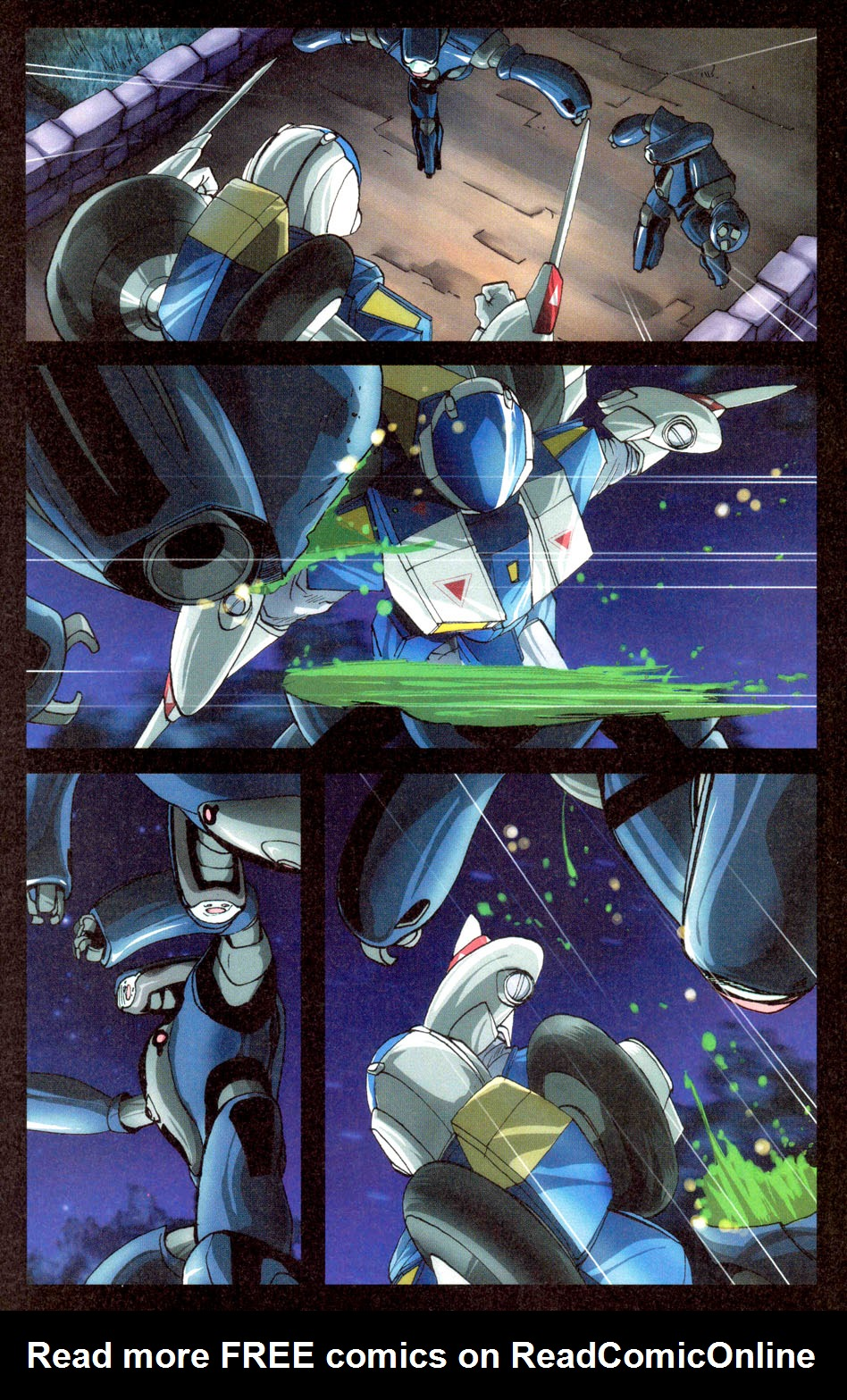 Read online Robotech: Invasion comic -  Issue #3 - 11