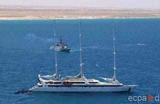 Israeliska varningsskott mot tyskt fartyg i libanon