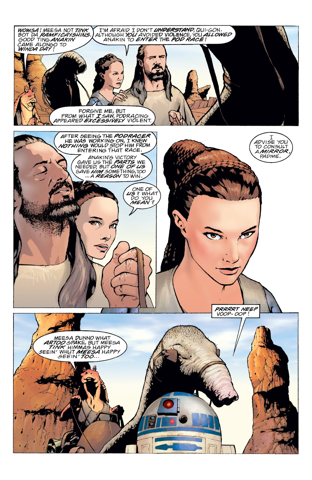 Read online Star Wars Legends: Rise of the Sith - Epic Collection comic -  Issue # TPB 2 (Part 5) - 1