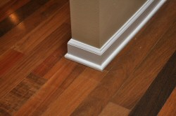 Real Wood Floors Should I Paint Or Stain My Trim