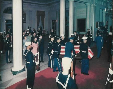 JFK  50 JFKS BODY RETURNS TO WHITE HOUSE