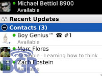 BlackBerry Messenger 5