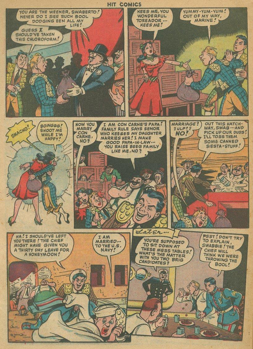Read online Hit Comics comic -  Issue #61 - 26