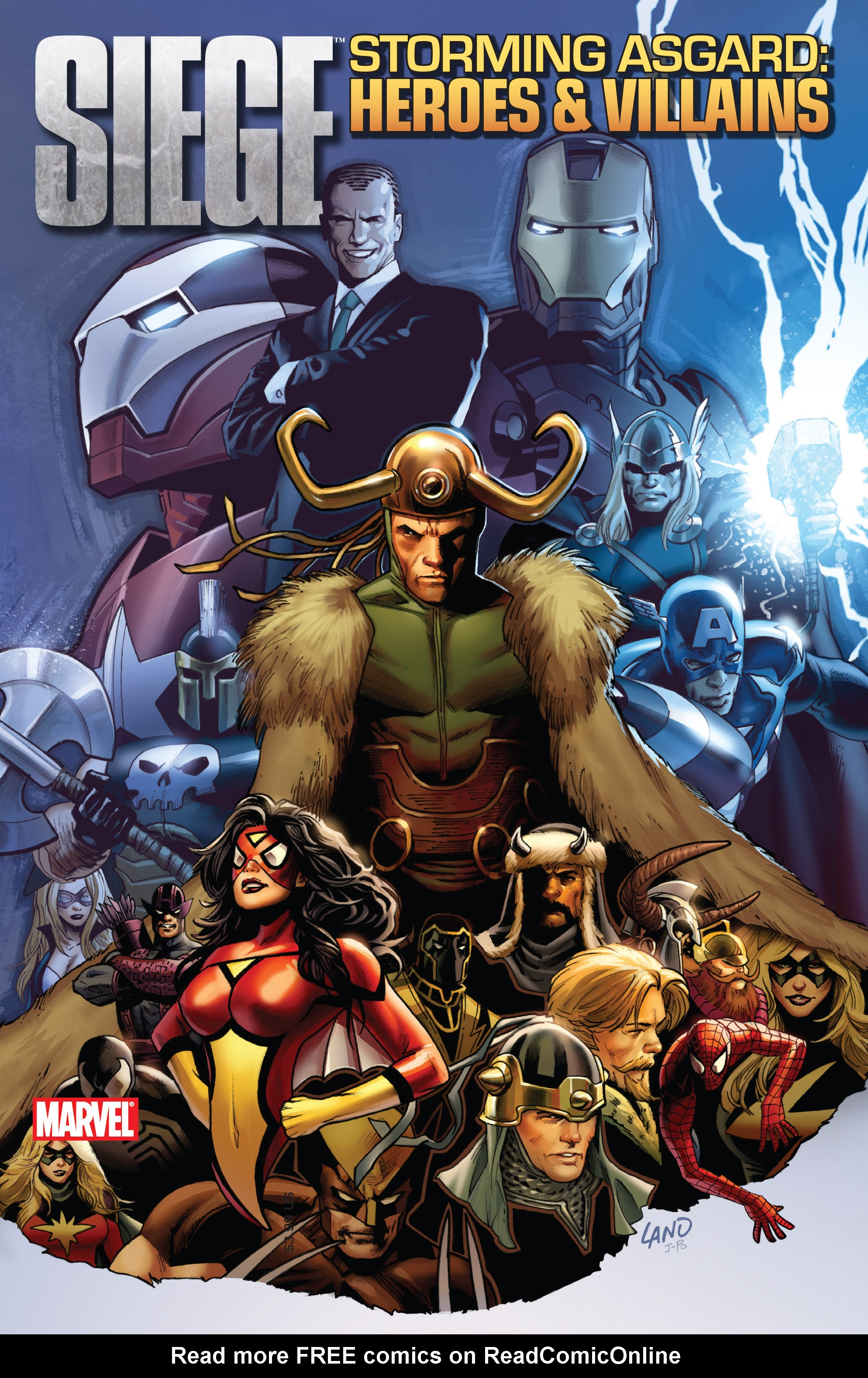 Read online Siege: Storming Asgard - Heroes and Villains comic -  Issue # Full - 1