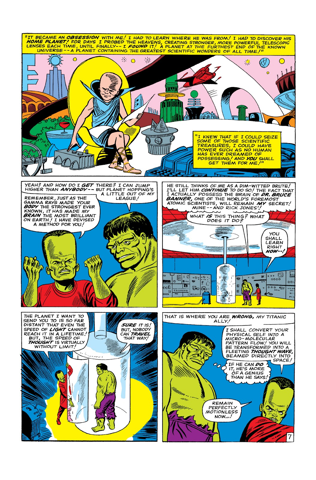 Read online Marvel Masterworks: The Incredible Hulk comic -  Issue # TPB 2 (Part 2) - 74