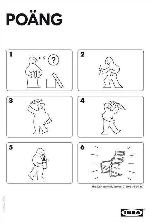 House Of Mystery Le Istruzioni Di Montaggio Dei Mobili Ikea