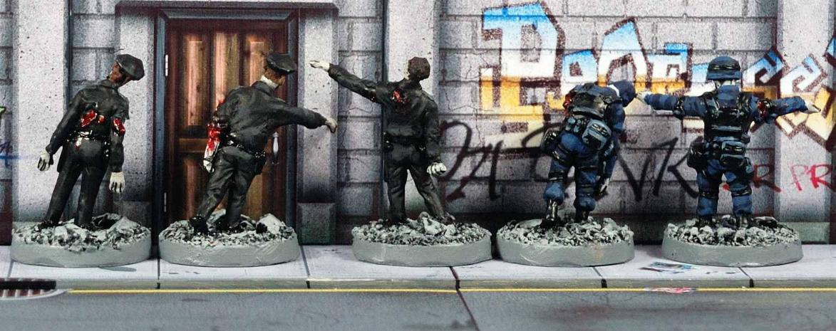Vampifan's World of the Undead: Cold War Miniatures Zombies 06