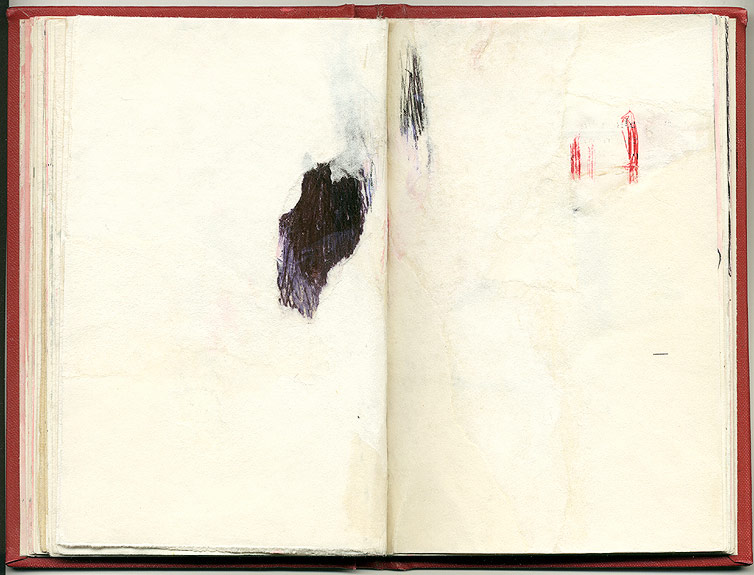 - And Other Observations, 2007. pen, acrylic & collage on altered book.
