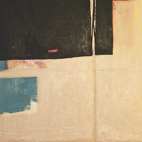 Black Spring, 2004. oil & mixed media on wood. 61 x 60.3 x 4.5 cm