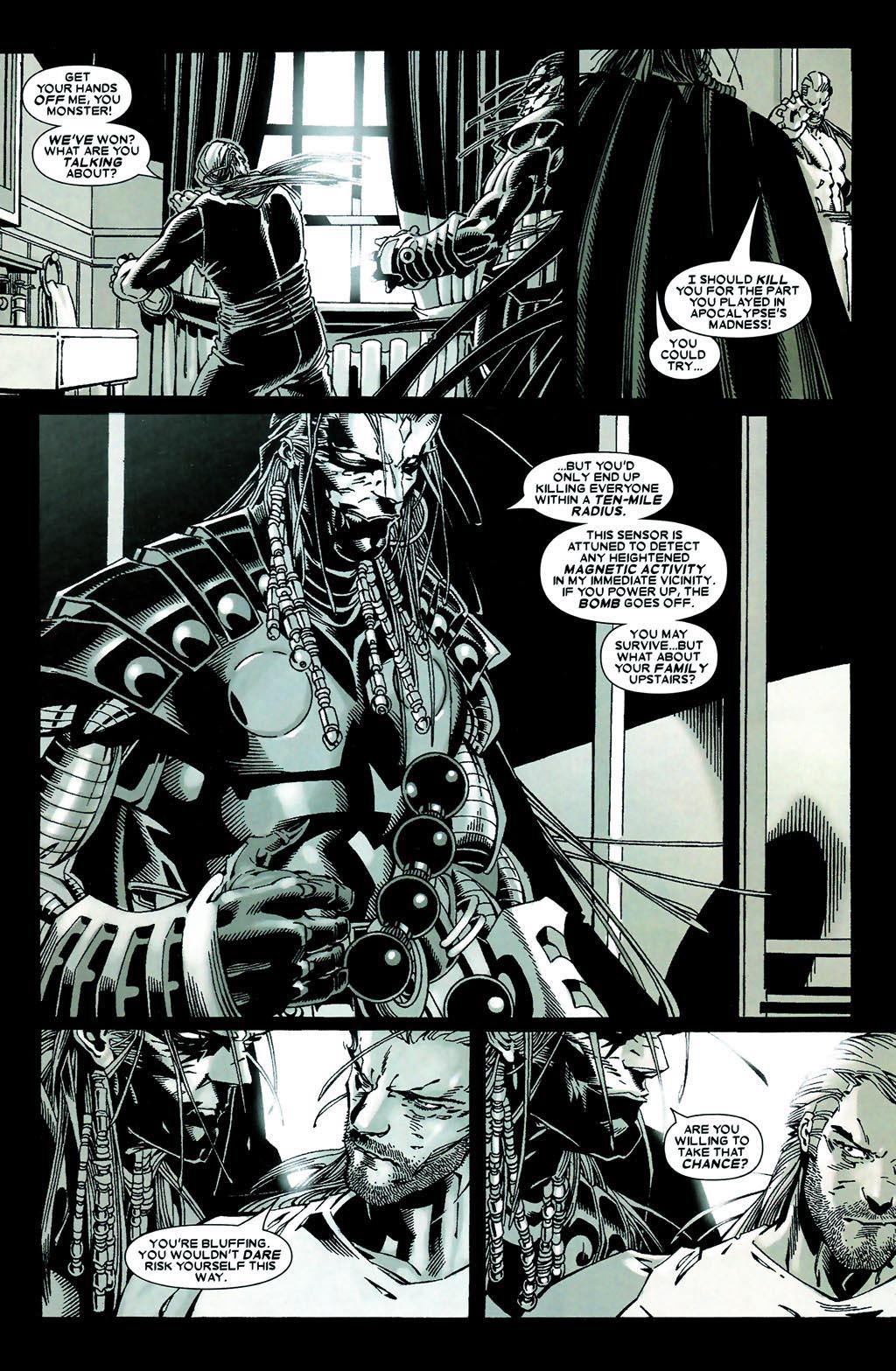Read online Age of Apocalypse (2005) comic -  Issue #5 - 11