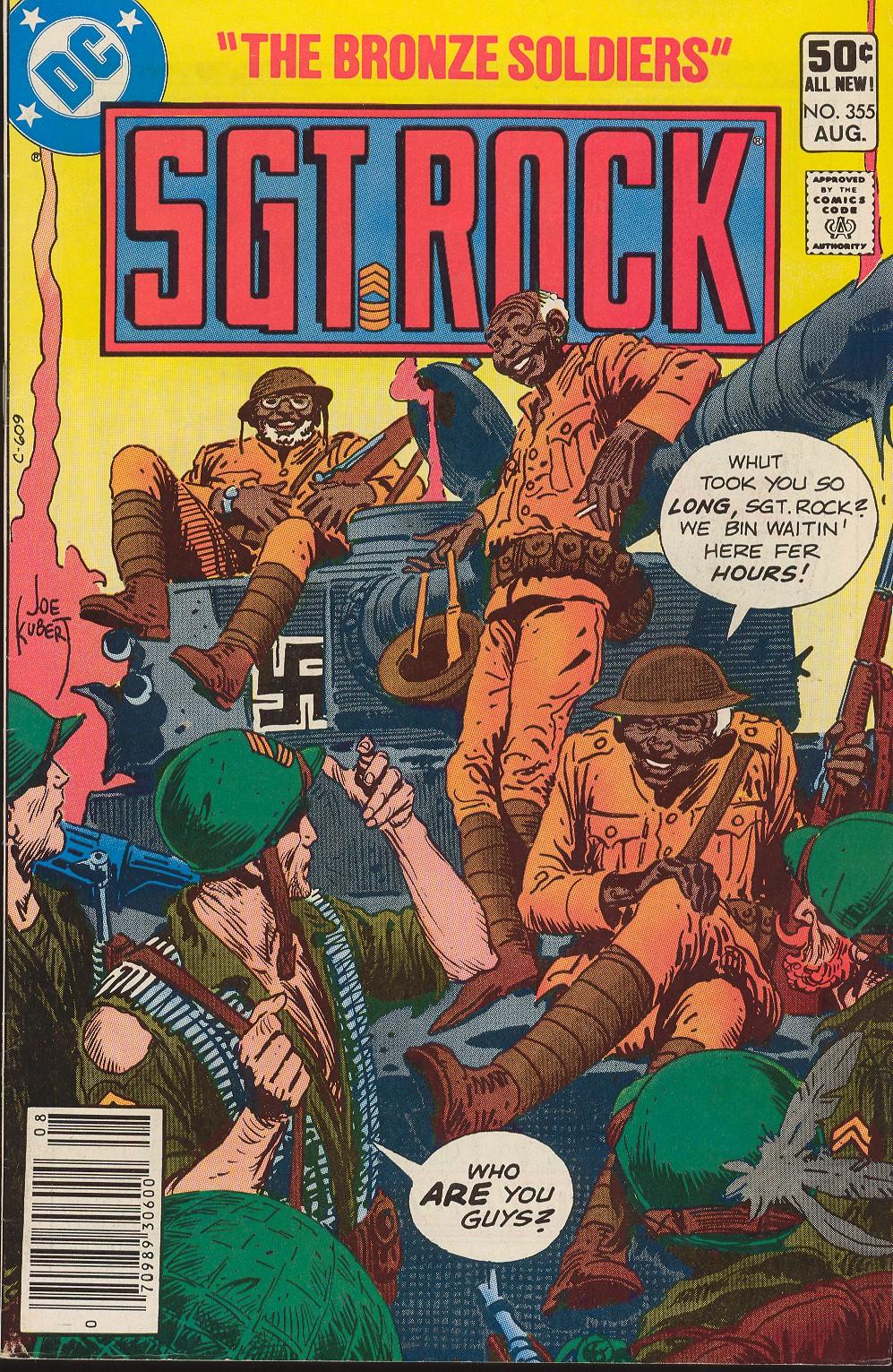 Read online Sgt. Rock comic -  Issue #355 - 1