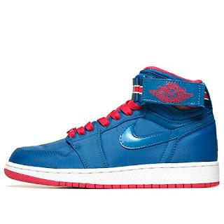 Nike Girls Jordan 1 Hi Strap
