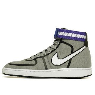 Nike Vandal Hi - MATTE SILVER/WHT-BLCK-GLSS BL