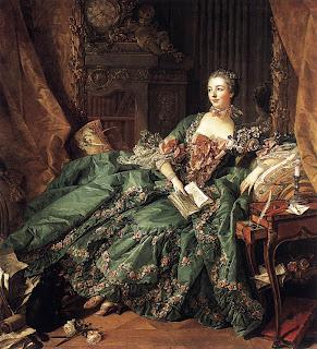 Boucher e Madame de Pompadour