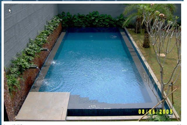 biaya bangunan kolam renang sederhana kontraktor kolam
