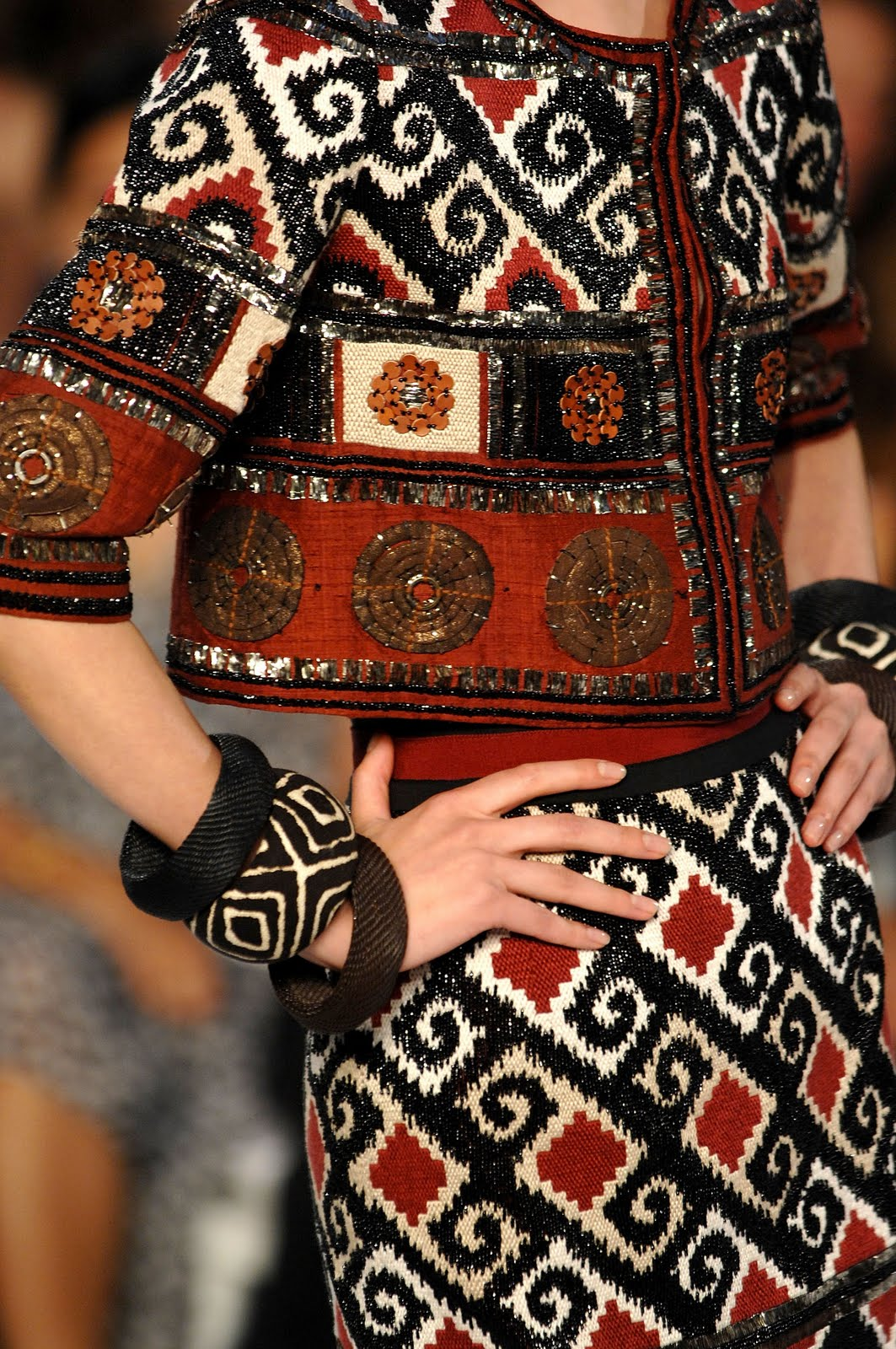 1000+ ideas about Tribal Patterns on Pinterest | Scarf ... - photo#31