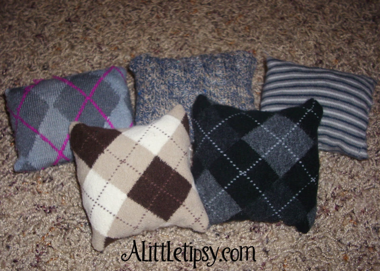 Cute Bean Bags From Worn Out Socks A Little Tipsy