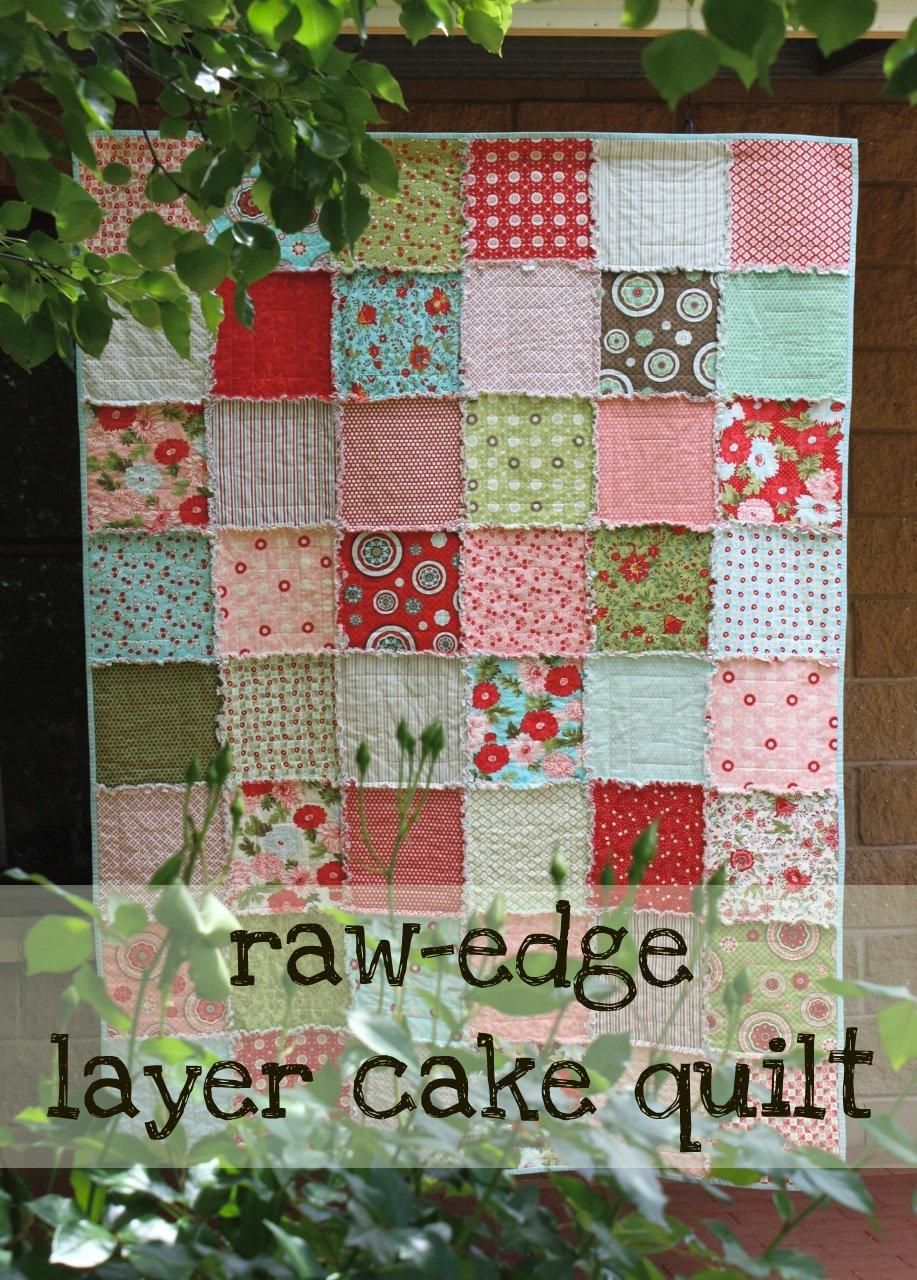 Fabric Layer Cake Quilt