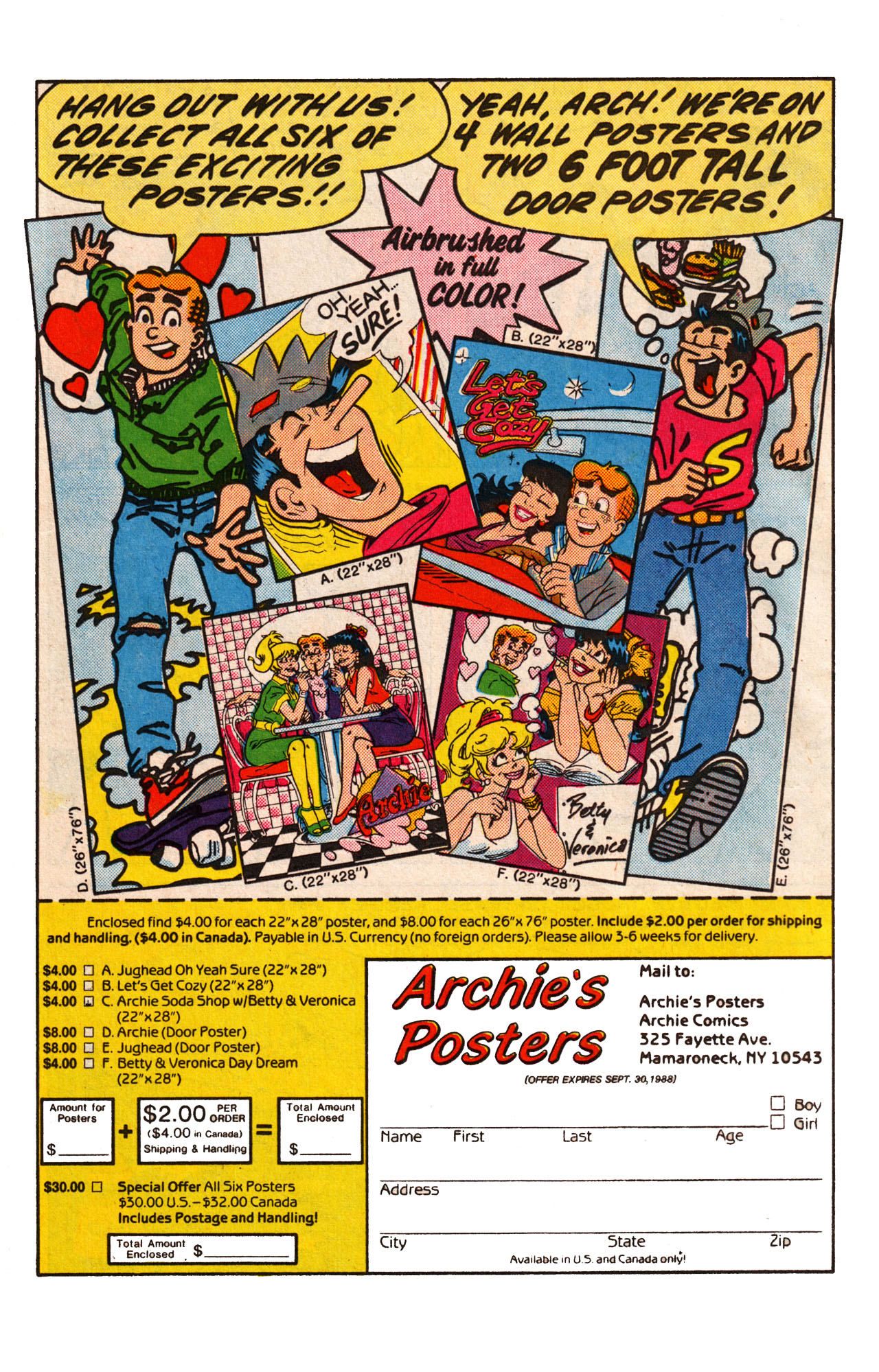 Read online Archie (1960) comic -  Issue #360 - 18