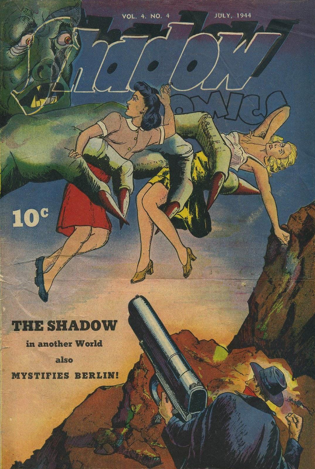 Shadow Comics 40 Page 1
