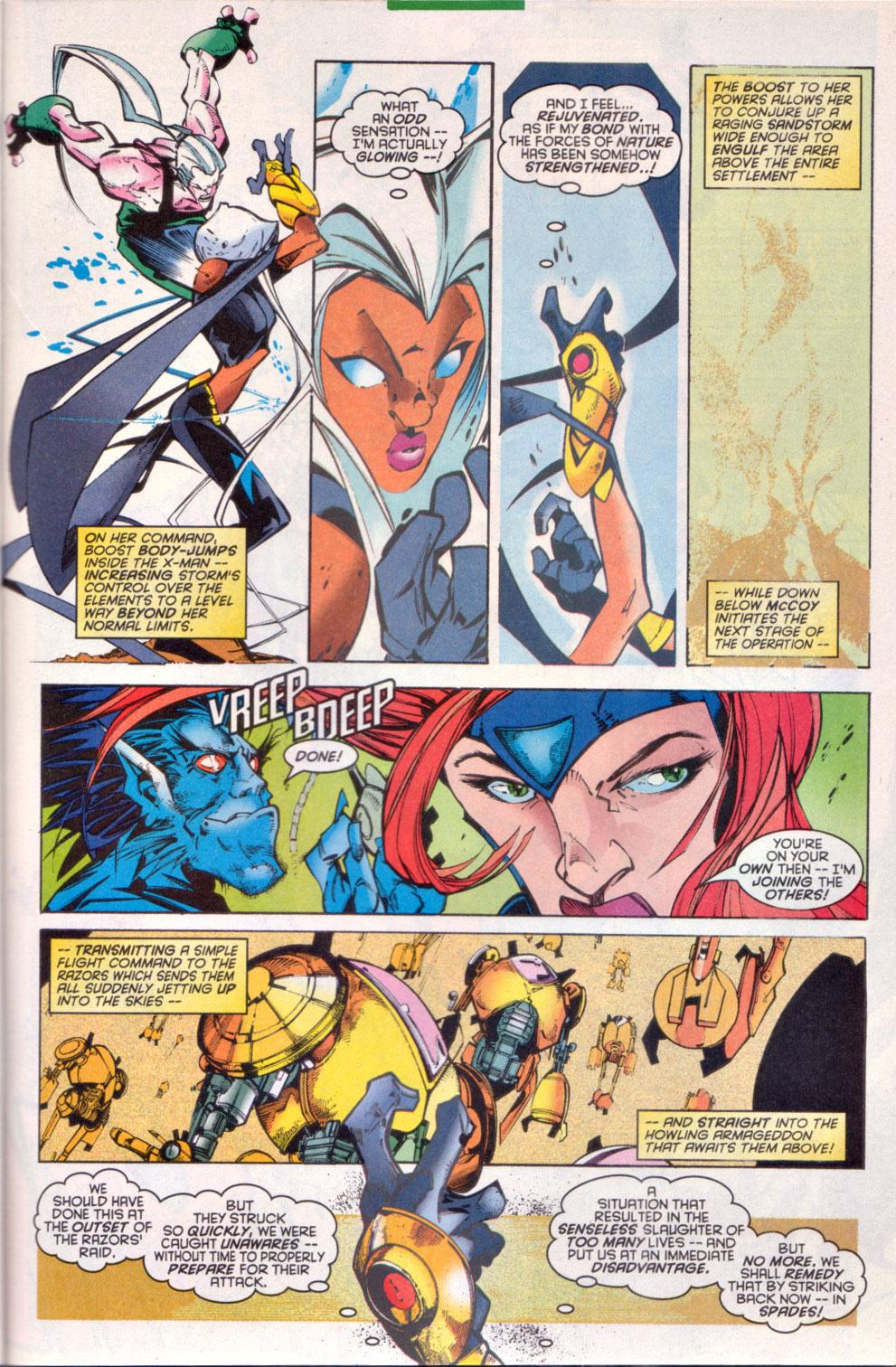Read online Uncanny X-Men (1963) comic -  Issue # _Annual 1997 - 28
