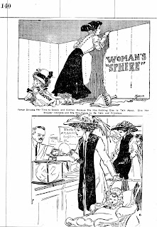 History 106: Women's Suffrage cartoons and broadsides