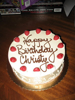 Woodland Ave Happy Birthday Christy