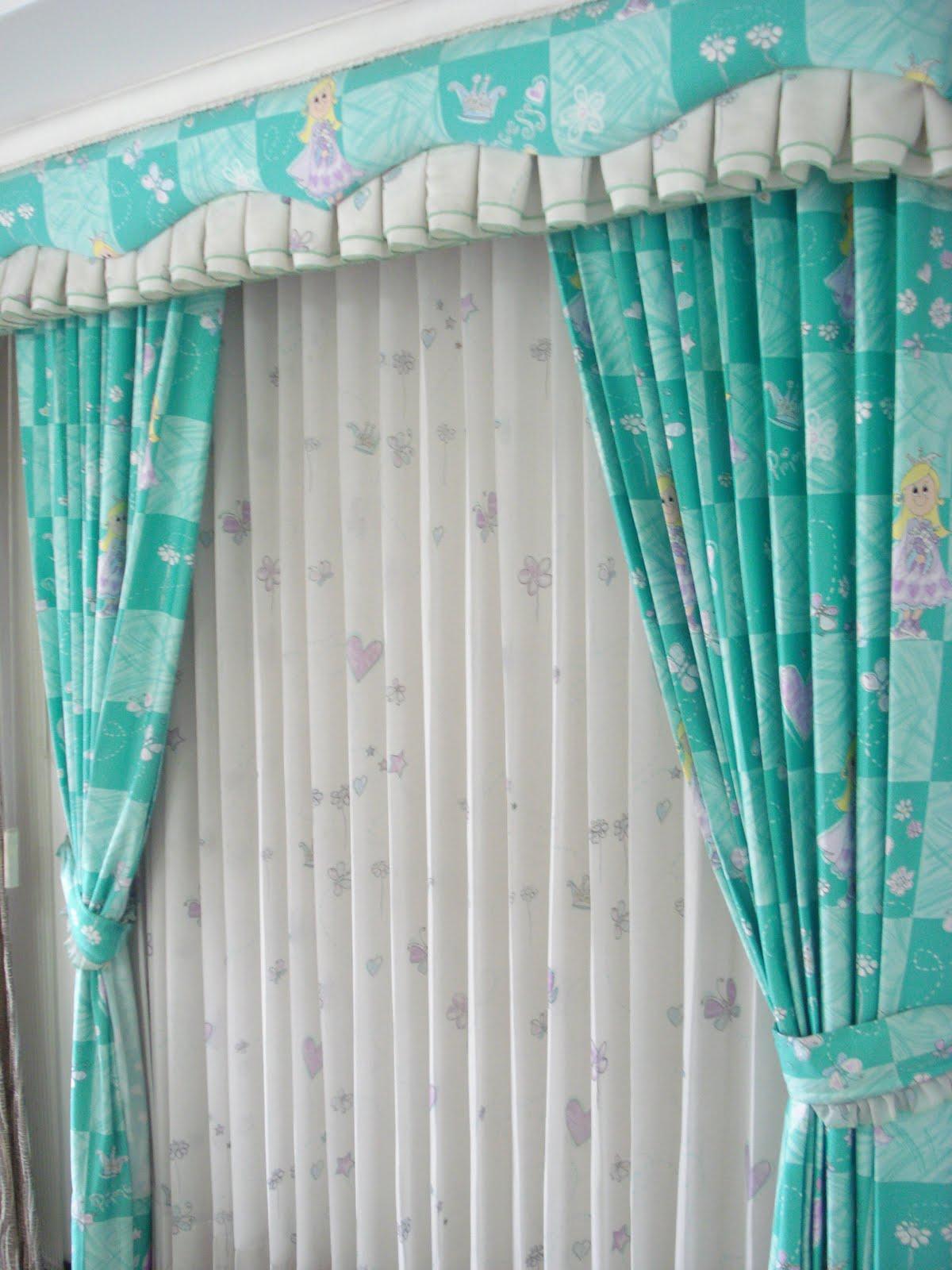 Dise os de cortinas infantiles - Cortinas de dormitorios ...