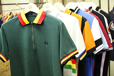 c9969f2dc Need a new cycling jersey...   you might check this out. Fred Perry gave it  a touch of cycling jersey style to their famous classic polo in order to  embrace ...